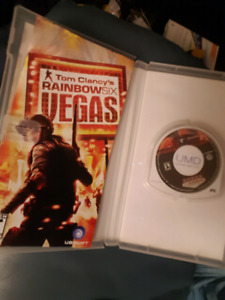 Rainbow Six Vegas ( PSP ) & Ghost Recon