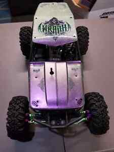 Axial Wraith RC, very well equipped!