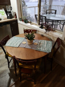 Dining Table + Chairs + Cushions