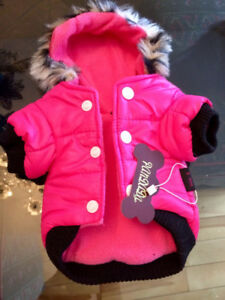 Dog coat brand new for Yorkie or Chihuahua
