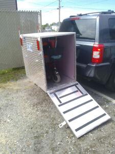 boite de transport pour triporter