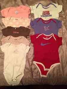 Like New! 19 Pieces Baby Girl Clothes