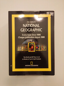 National Geographic DVD Every Issue Since 1888