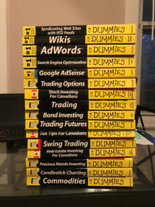 "Assorted Investing ""For Dummies"" Books for Sale"
