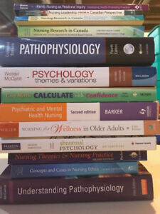Sale Nursing Textbooks, like-new, great deal 416 668 3462
