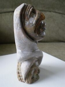 Six Nations Soapstone Carving - Al Shingkwak Kitchener / Waterloo Kitchener Area image 5