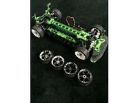 rc 1/10 electric drift car roller