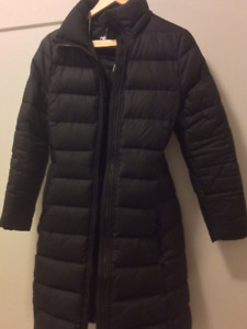 Black Downfilled Winter Jacket from Aritzia
