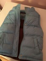 Girls warm fall vest
