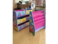 Peppa pig toddler bed and furniture