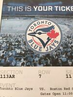 RED SOX VS JAYS Canada Day!
