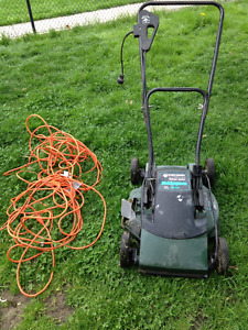 Lawn Mower with new electrical cord