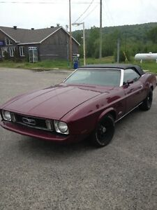 1973 Ford Mustang Cabriolet