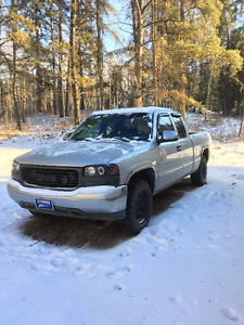 2001 GMC Sierra 4x4 1500 Pickup Truck