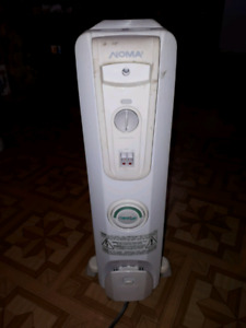 Noma 1500 watts electric oil furnace heater