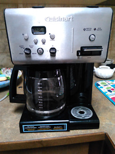 Coffee and hot water maker.