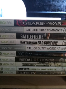 10 xbox 360 games for $35