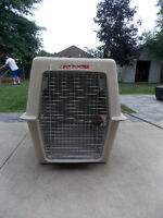 Giant Portable Petmate Carrier and Giant Collapsible cagei