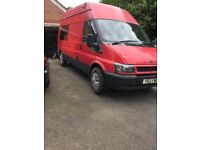 Ford transit day camper van conversion
