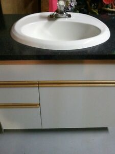 Countertop Materials For Sale : Sink, Countertop & Cabinet For Sale!