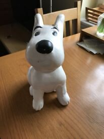 Tintin's Companion Dog Snowy. Wooden model. New, unwanted present.