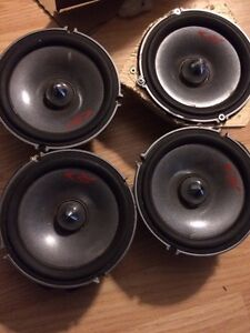 "Alpine Type R 6.5"" Component Speakers, tweeters, RF amp"