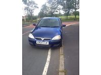 04 reg vauxhall corsa new price
