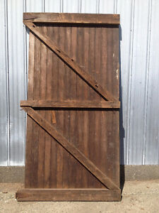 old barn doors have 44 of them all kinds of sizes and styles