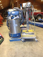 Powder coating equipment and 24' oven
