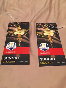 Ryder Cup - Final round (x2)