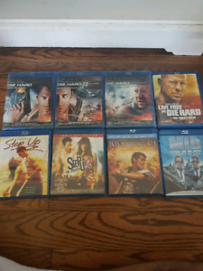 Blu-ray movies for sale $2 each