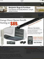 $95 Garage Doors & Openers Installation and Repair