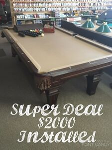 Used And NEW Pool Table SHOWROOM Gatineau Ottawa / Gatineau Area image 3