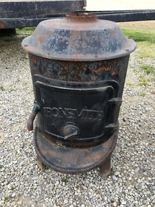 Wood Furnace - Ironsmith - Antique - Ideal Ornamental Use