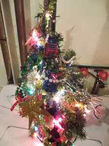 Two Mini Christmas trees Kitchener / Waterloo Kitchener Area image 1
