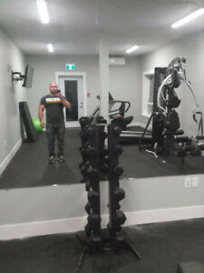 Large gym mirror 6ft x 4ft brand new