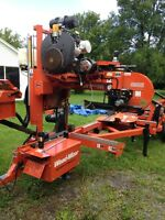 SERVICE DE MOULIN A SCIE MOBILE (SCIERIE MOBILE) LT 50 WOODMIZER