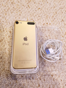 Ipod Touch 6th generation, Gold, 64Gb