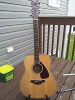 Yamaha 12 String Acoustic FG720S-12