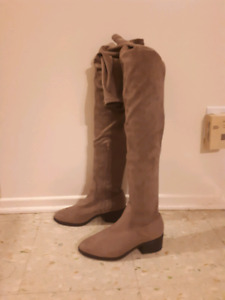 Thigh high boots size 9
