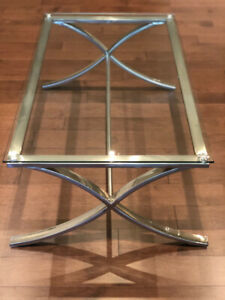 Glass Coffee Table from Bowring