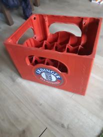 Erdinger beer bottle crate carrier