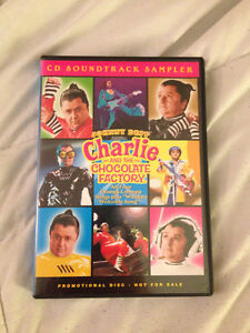 Charlie and the Chocolate Factory Soundtrack Sampler