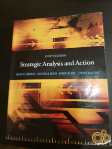 Strategic Analysis and Action 8th Edition