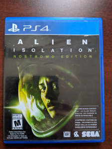 PS4 Alien Isolation Nostromo Edition game
