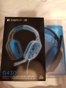 Logitech Surround Sound Gaming Headset (G430)