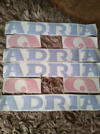 Caravan Decals - Adria