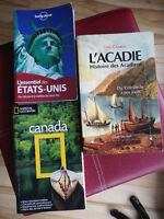 Travel book Can, USA, Acadie- National Geographic, lonelyplanet