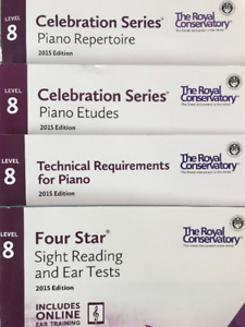 RCM Piano Level 8 - 2015 Edition Excellent Condition