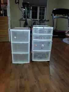 Two storage containers in good condition